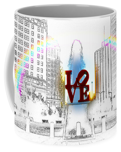 Love Coffee Mug featuring the photograph Love by Bill Cannon