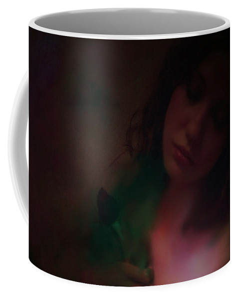 Headshot Coffee Mug featuring the photograph Love Can Hurt by Jeff Burgess