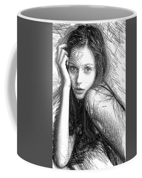 Rafael Salazar Coffee Mug featuring the digital art Love Me Tender by Rafael Salazar