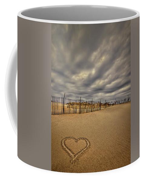 Beach Coffee Mug featuring the photograph Love On The Forecast by Evelina Kremsdorf