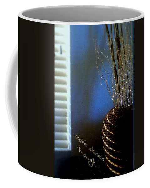 Still Life Coffee Mug featuring the photograph Love Shines Through by Holly Kempe