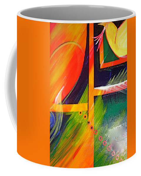 Love Coffee Mug featuring the painting Love Song by Sheila J Hall