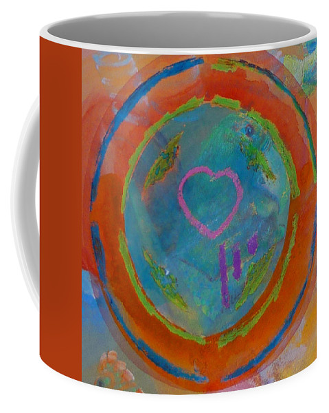 Logo Coffee Mug featuring the painting Love The Sea by Charles Stuart