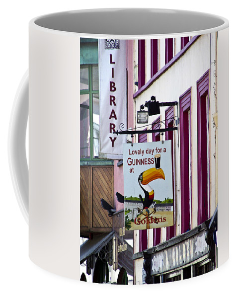 Irish Coffee Mug featuring the photograph Lovely Day For A Guinness Macroom Ireland by Teresa Mucha