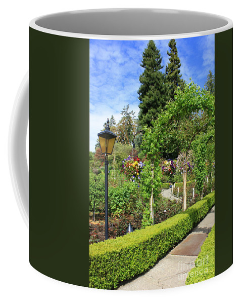 Garden Coffee Mug featuring the photograph Lovely Day In The Garden by Carol Groenen