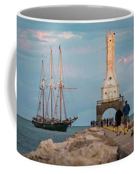 Port Coffee Mug featuring the photograph Loving Port by James Meyer