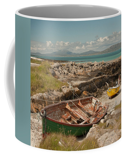 Scotland Coffee Mug featuring the photograph Low Tide by Colette Panaioti