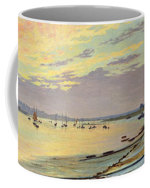 Low Coffee Mug featuring the painting Low Tide by W Savage Cooper