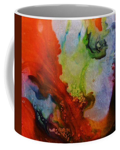 Lucid Dream Coffee Mug featuring the painting Lucid Dream by Marianna Mills