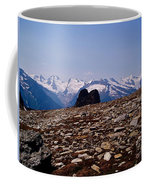 Landscape Coffee Mug featuring the photograph Lunar Landscape In The Mountains by E Robert Dee