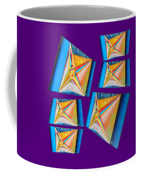 Spirituality Coffee Mug featuring the painting M A B Imperatrice C by Michael Bellon