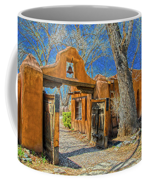 Mabel Coffee Mug featuring the photograph Mabel's Gate by Charles Muhle