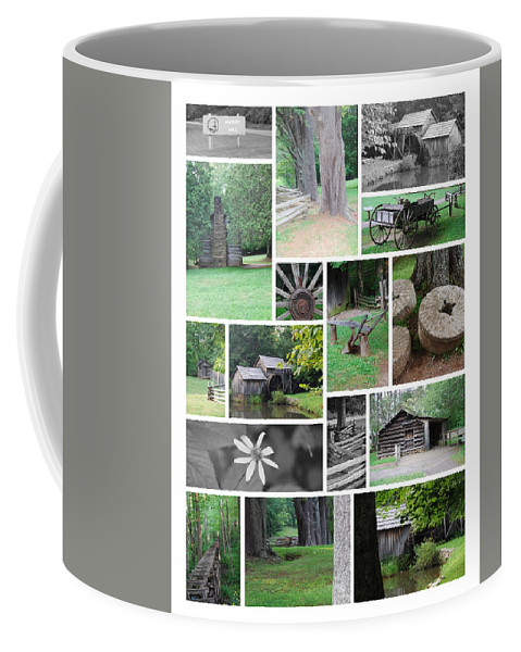 Water Coffee Mug featuring the photograph Mabry Mill by Eric Liller