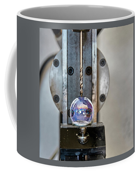 Machinist Coffee Mug featuring the photograph Machinists Drill With Precision by David Hayden
