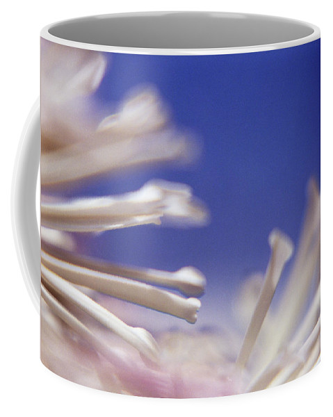 Macro Coffee Mug featuring the photograph Macro Flower 2 by Lee Santa