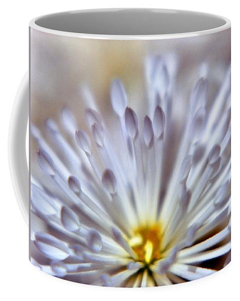 Macro Coffee Mug featuring the photograph Macro Flower 3 by Lee Santa