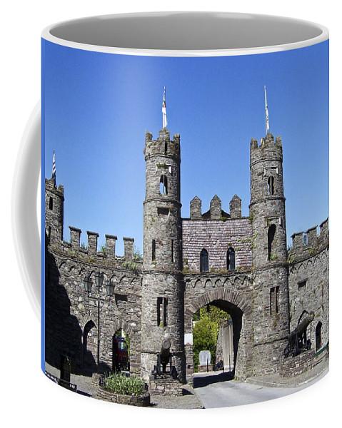 Irish Coffee Mug featuring the photograph Macroom Castle Ireland by Teresa Mucha