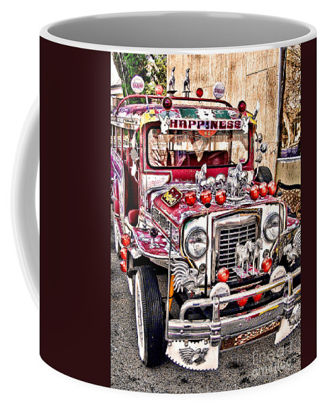 Jeepney Coffee Mug featuring the photograph Made In The Philippines by Jason Abando