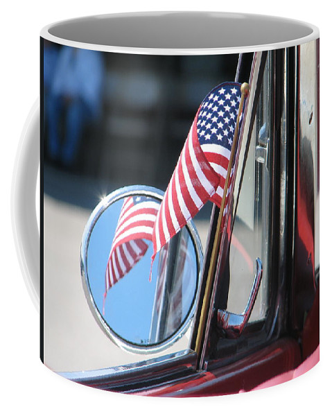 America Coffee Mug featuring the photograph Made In The Usa by Kelly Mezzapelle