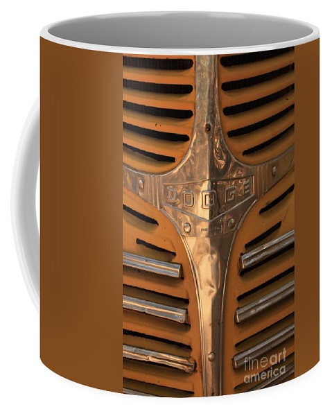 Dodge Coffee Mug featuring the photograph Made In Usa by Carol Groenen