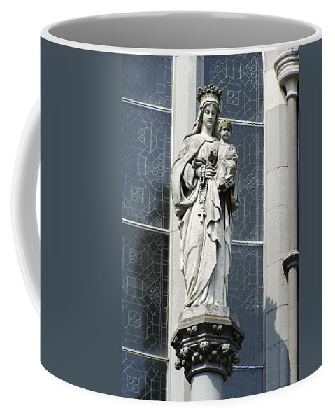 Ireland Coffee Mug featuring the photograph Madonna And Child by Teresa Mucha