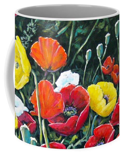 Art Coffee Mug featuring the painting Maestoso Opus by Richard T Pranke