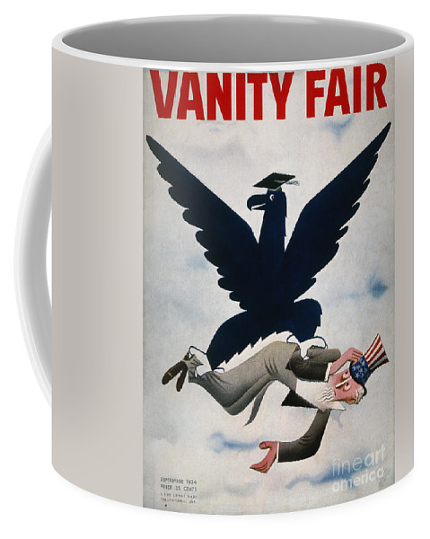 1934 Coffee Mug featuring the photograph Magazine: New Deal, 1934 by Granger
