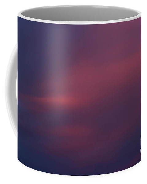 Sky Coffee Mug featuring the photograph Magenta In Winter by Amy Sorvillo
