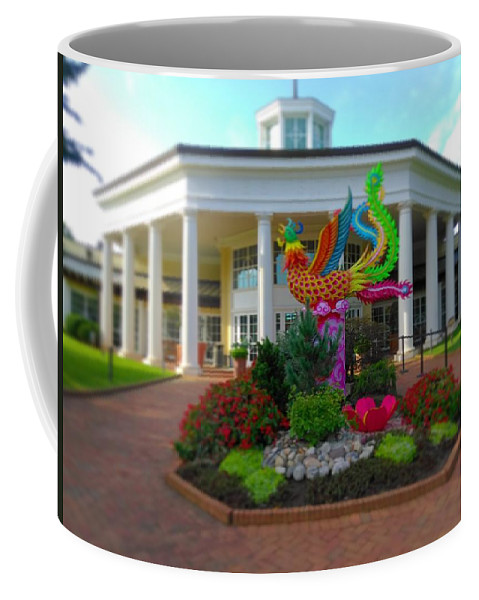 Coffee Mug featuring the photograph Magic Begins by Rodney Lee Williams