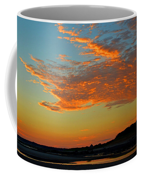 Cape Cod Bay Coffee Mug featuring the photograph Magic Moments Over Cape Cod Bay by Dianne Cowen