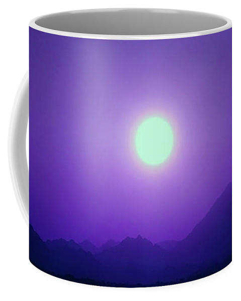 Magic Coffee Mug featuring the photograph Magical And Beautiful Sunset In Africa by Johanna Hurmerinta