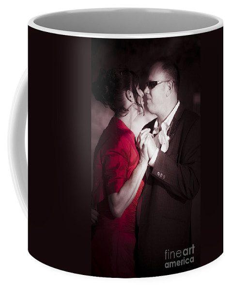 Admire Coffee Mug featuring the photograph Magical Moment Of Love by Jorgo Photography - Wall Art Gallery