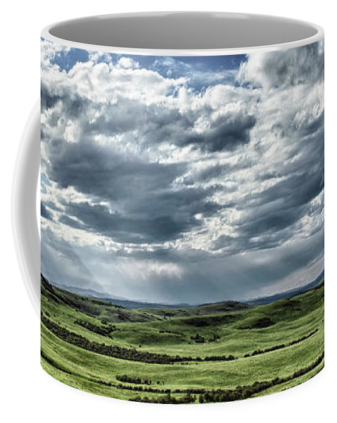 Alberta Coffee Mug featuring the photograph Magnetic View by Brad Allen Fine Art