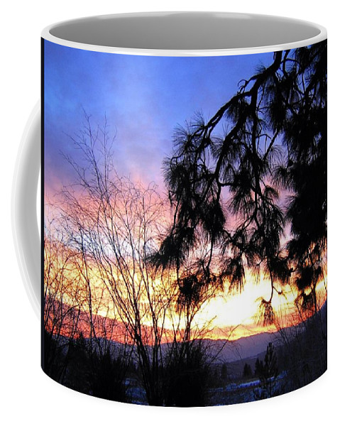 Magnificent Coffee Mug featuring the photograph Magnificent Winter Sky by Will Borden
