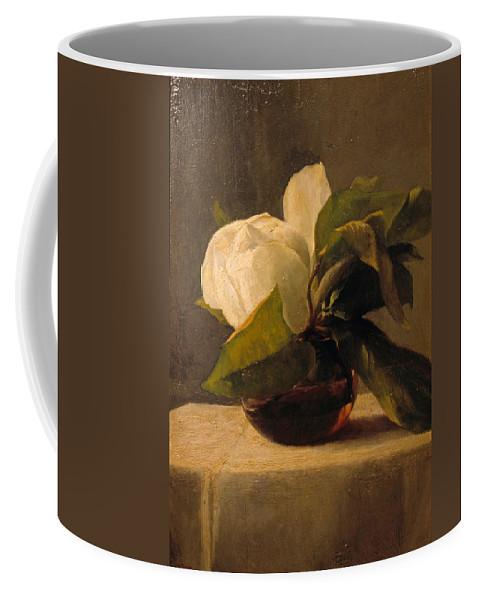 John Lafarge Coffee Mug featuring the painting Magnolia by John LaFarge