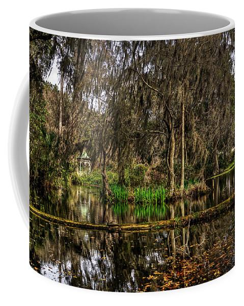 Magnolia Coffee Mug featuring the photograph Magnolia Plantation by Aaron Shortt