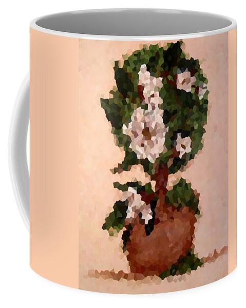 Digital Photo Coffee Mug featuring the digital art Magnolia Topiary IIi by Barbara Griffin