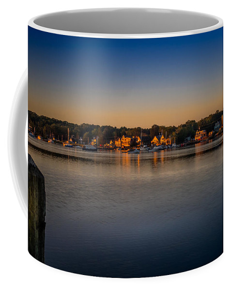 Canada Coffee Mug featuring the photograph Mahone Bay From Oakland by Mark Llewellyn