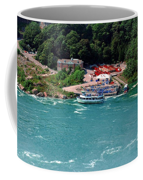Maid Coffee Mug featuring the photograph Maid Of The Mist by Kathleen Struckle