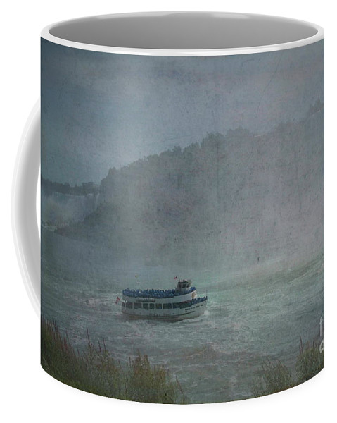 Maid Of The Mist Coffee Mug featuring the photograph Maid Of The Mist by Luther Fine Art