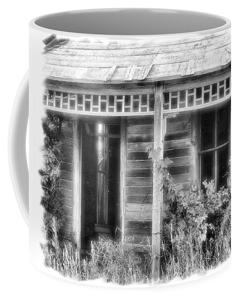 Enhanced Photo Coffee Mug featuring the photograph Maiden History 2 by Susan Kinney