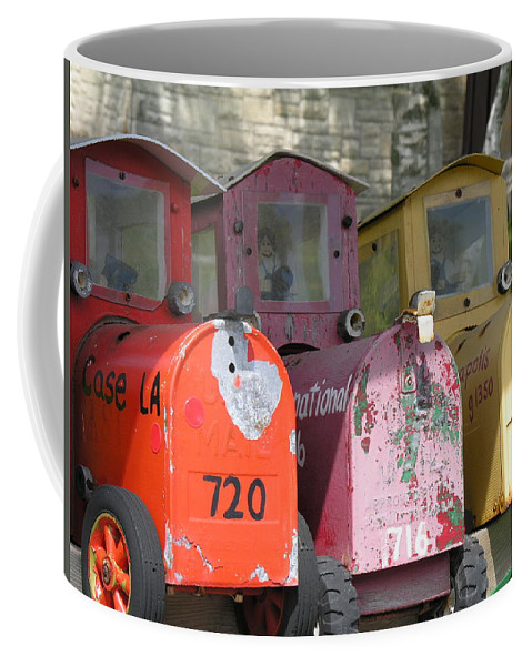 Mail Coffee Mug featuring the photograph Mail Boxes Wi by Diane Greco-Lesser
