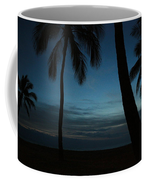 Hawaii Coffee Mug featuring the photograph Ma'ili Beach After Sunset by Jennifer Bright