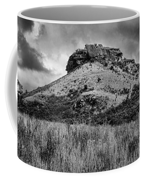 Drakensberg Coffee Mug featuring the photograph Main Caves Panorama - Drakensberg by Stephen Stookey