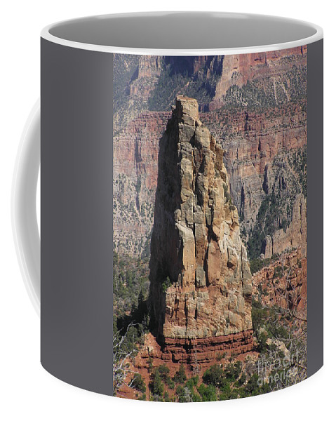 Rock Coffee Mug featuring the photograph Majestic by Louise Magno