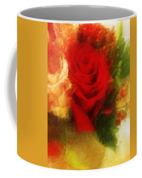 Flora Coffee Mug featuring the photograph Make Mine Roses Please Too by Diane Lindon Coy