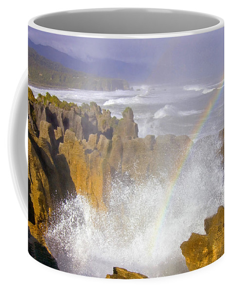Paparoa Coffee Mug featuring the photograph Making Miracles by Mike Dawson