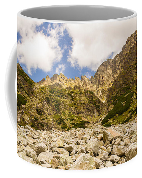 Nature Coffee Mug featuring the photograph Mala Studena Dolina by Mirko Chianucci