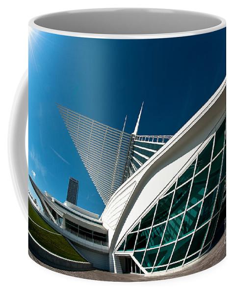 Milwaukee Coffee Mug featuring the photograph Mam Angle by Steven Dunn