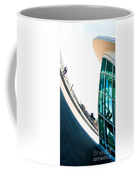 Milwaukee Coffee Mug featuring the photograph Mam Curved by Steven Dunn